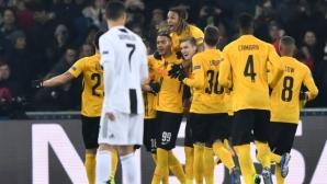 Юве и Кристиано претърпяха поражение в Швейцария