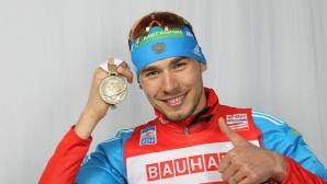 Звездата на руския биатлон Антон Шипулин заподозрян за допинг