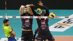 Цветан Соколов с 11 точки, Лубе записа победа №9 в Италия (видео + снимки)