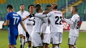 """Славия - Верея 0:0, три греди за """"белите"""" до 5-ата минута"""