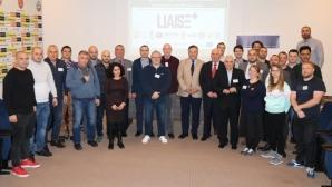 БФС беше домакин на втори семинар по проекта LIAISE на ЕК и УЕФА