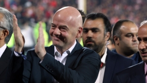 Шефът на ФИФА получи нова солидна подкрепа преди изборите