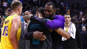 Леброн Джеймс поведе Лос Анджелис Лейкърс към нова победа