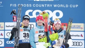 Евгени Белов спечели интервалния старт на 15 км от СК в Давос