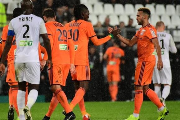 Лион на 1/4-финал за Купата на лигата във Франция