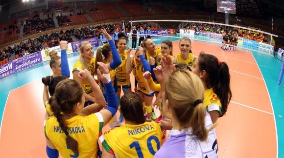Марица без шанс срещу световните шампионки от Вакъфбанк в ШЛ