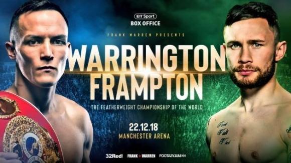 Карл Фремптън срещу Джош Уорингтън в битка за световната титла