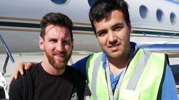 Меси се прибра в Аржентина