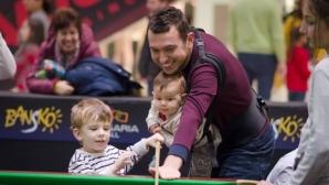 Над 300 деца се запознаха със снукъра по случай рождения  ден на федерацията