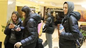 Световните шампионки от ВакъфБанк пристигнаха в Пловдив с всичките си звезди