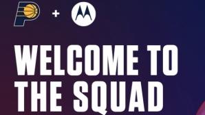 Motorola и Индиана Пейсърс сключиха дългогодишно партньорство