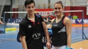 Смесената двойка Мария Мицова и Алекс Влаар е на 1/2-финал в Турция