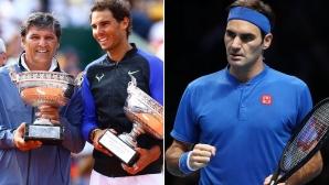 Тони Надал с похвални думи за Федерер