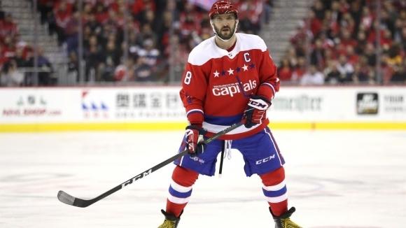 Гол на Овечкин беше избран за номер 1 през 2018-а година в НХЛ