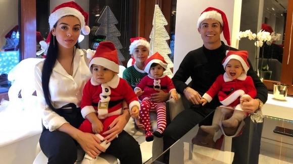 Коледата на Кристиано Роналдо и още куп звезди (снимки)