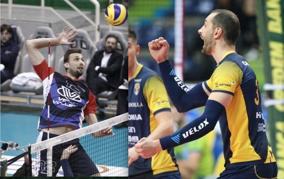 Българските волейболни джентълмени един срещу друг