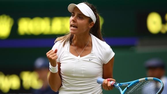 Вики Томова стартира с победа в квалификациите на турнира в Бризбън