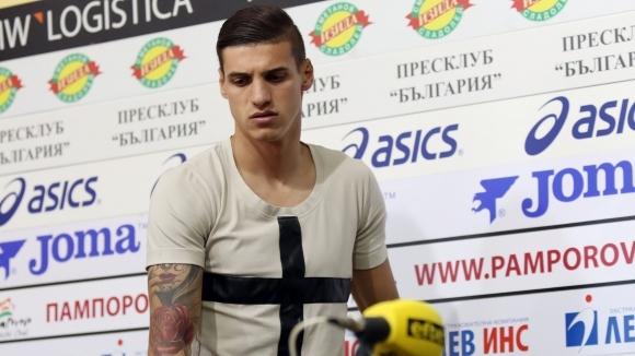 Десподов: Искрено се надявам ЦСКА да ме продаде