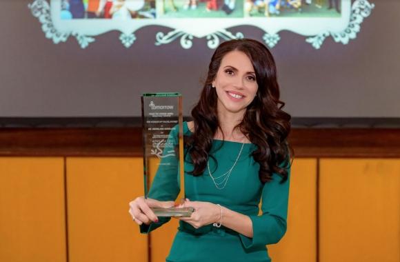 """Д-р Денислава Ангелова - първата жена в света с награда от Института за мир """"Перес"""" в Тел Авив"""
