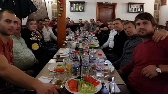 Боби Галчев събра ветераните на Пирин (Разлог) на тежка маса