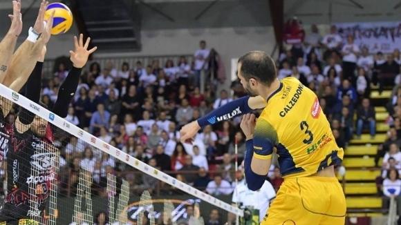 Силен Матей Казийски с 19 точки, Верона изпуснаха шампионите от Перуджа (снимки)