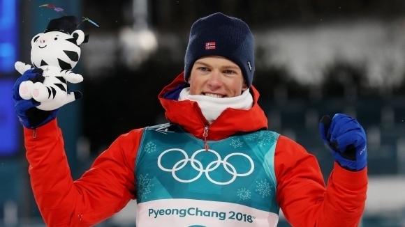 """Йоханес Клаебо си върна първото място в """"Тур дьо ски"""""""