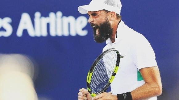 Беноа Пер се класира за втория кръг на турнира по тенис в Пуне