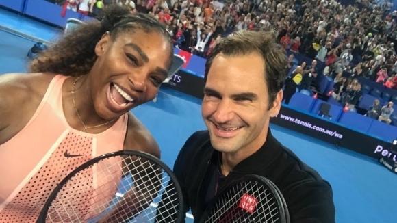 """Швейцария победи САЩ на """"Хопман къп"""", Федерер и Серина Уилямс с исторически мач на смесени двойки"""