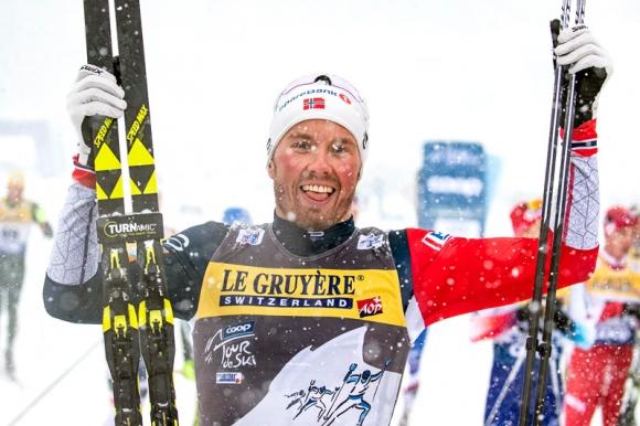 """Емил Иверсен спечели четвъртия старт от """"Тур дьо ски"""""""