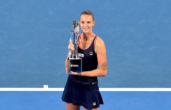 Плишкова спечели за втори път титлата в Бризбейн