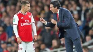 Само един футболист на Арсенал не се сбогувал с Емери