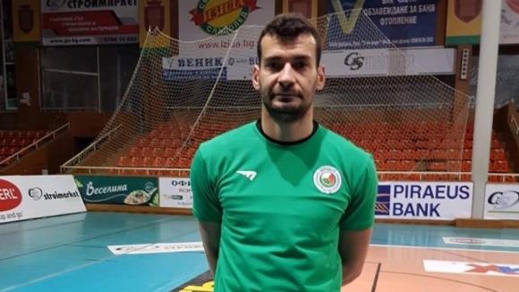 Галин Николов подсилва Добруджа 07 преди купата на България