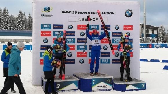 Най-после победа в СК по биатлон за Лиза Витоци