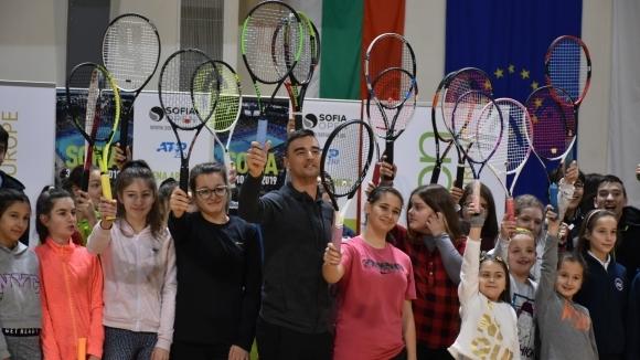 Димитър Кузманов пристигна в Благоевград преди участието си в Sofia Open