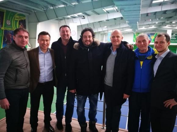Стефан Цветков посети най-новия тенис център в Казахстан