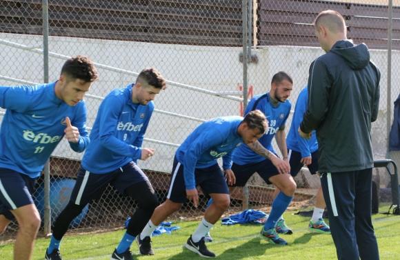 Левски започна тренировки в Кипър