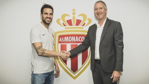 Официално: Фабрегас е футболист на Монако