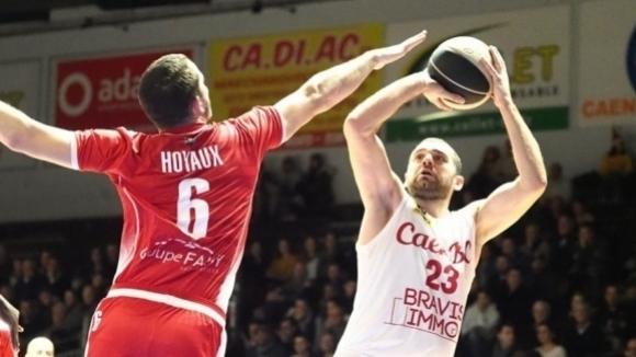 Павел Маринов отбеляза 14 точки при загуба на Каен