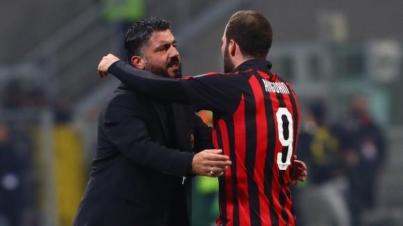Гатузо призна, че Игуаин напуска Милан