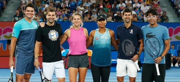 Време е за шоуто Australian Open