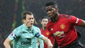 Арсенал - Манчестър Юнайтед е дербито на 4-ия кръг на ФА Къп