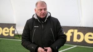 Петков: Класирането в Първа лига не е на всяка цена, важното е да радваме феновете (видео)