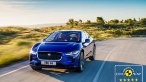 Пет звезди от Euro NCAP за електрическия Jaguar I-Pace