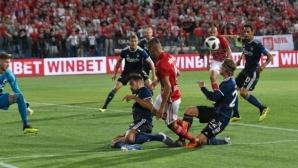 Гол срещу ЦСКА-София стана номер 1 в Дания