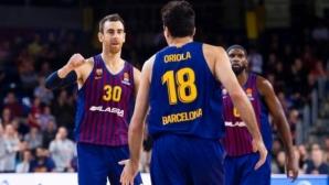 Барселона записа пети пореден успех в Евролигата
