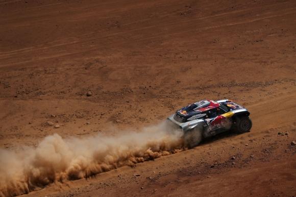 Дакар, ден 7: Петерханзел най-бърз, Льоб се върна назад