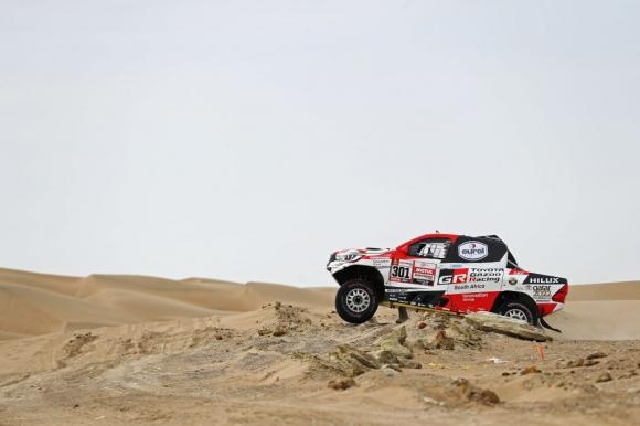 Ал-Атия спечели първата победа на Toyota на рали Дакар
