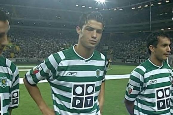 Треньорът на Роналдо в Лисабон го критикувал за гела
