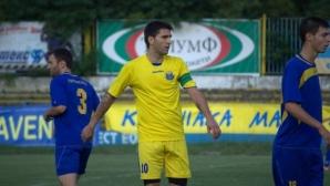 Иван Площаков ще помага на Атлетик (Куклен) и през пролетния дял на Трета лига