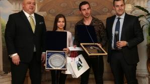Костадинова и Димитров: Готови сме за предизвикателството при мъжете и жените